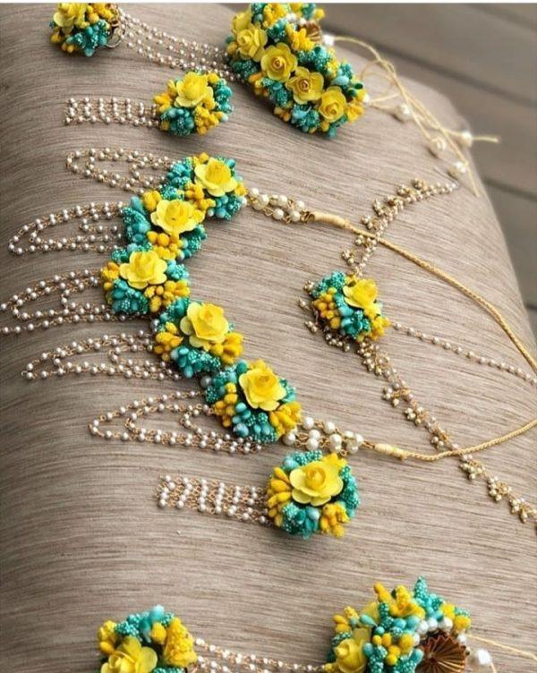 pink lower jewelry, bride flower jewelry, bridal flower jewelry, simple bridal jewelry, elegant bridal jewelry, flower jewelry for mehandi, flower jewelry for haldi, mehandi favors, mehandi jewelry, haldi jewelry, haldi jewelry for bride sister, mehandi jewelry for sister, latest flower jewelry, latest flower jewellery, flower jewelery designs, designer flower jewelry, latest flower jewelry designs, orange flower jewelry, white flower jewelry,