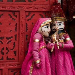 Rajasthani puppet show